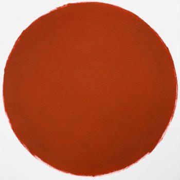 15-Kreis, 2013, Monotypie, 50 x 50 cm, Abz++ge 8